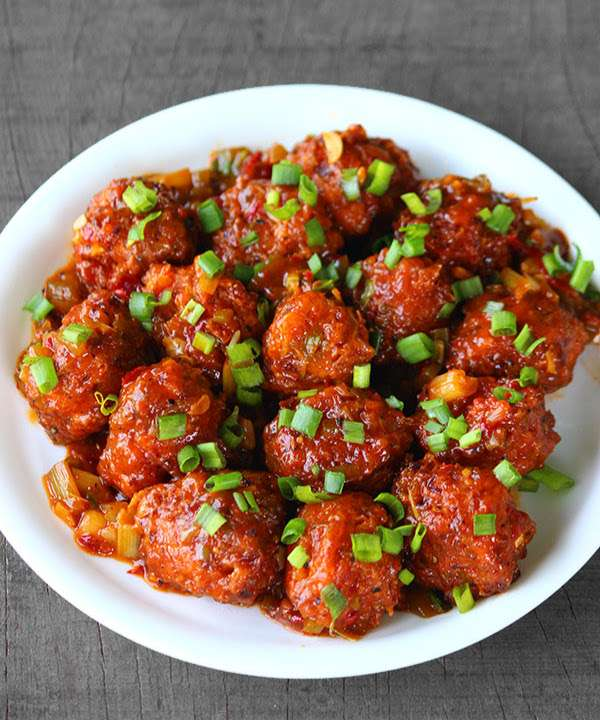 24. Vegetable Manchuria