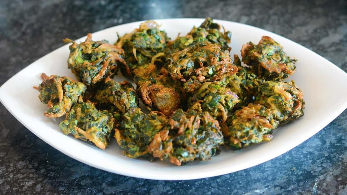 1. Spinach Pakora