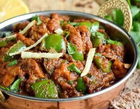 98. Khadai Chicken