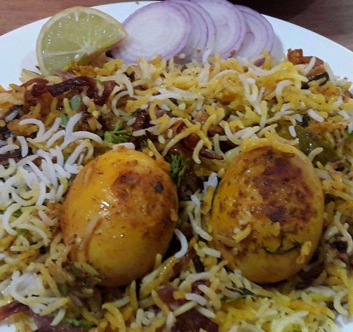 Egg Biryani