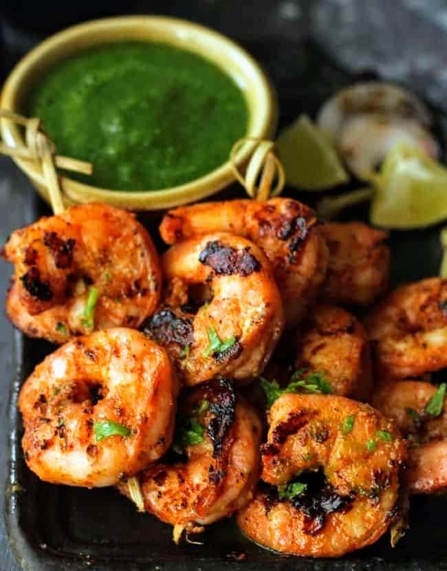 144. Tandoori Shrimp