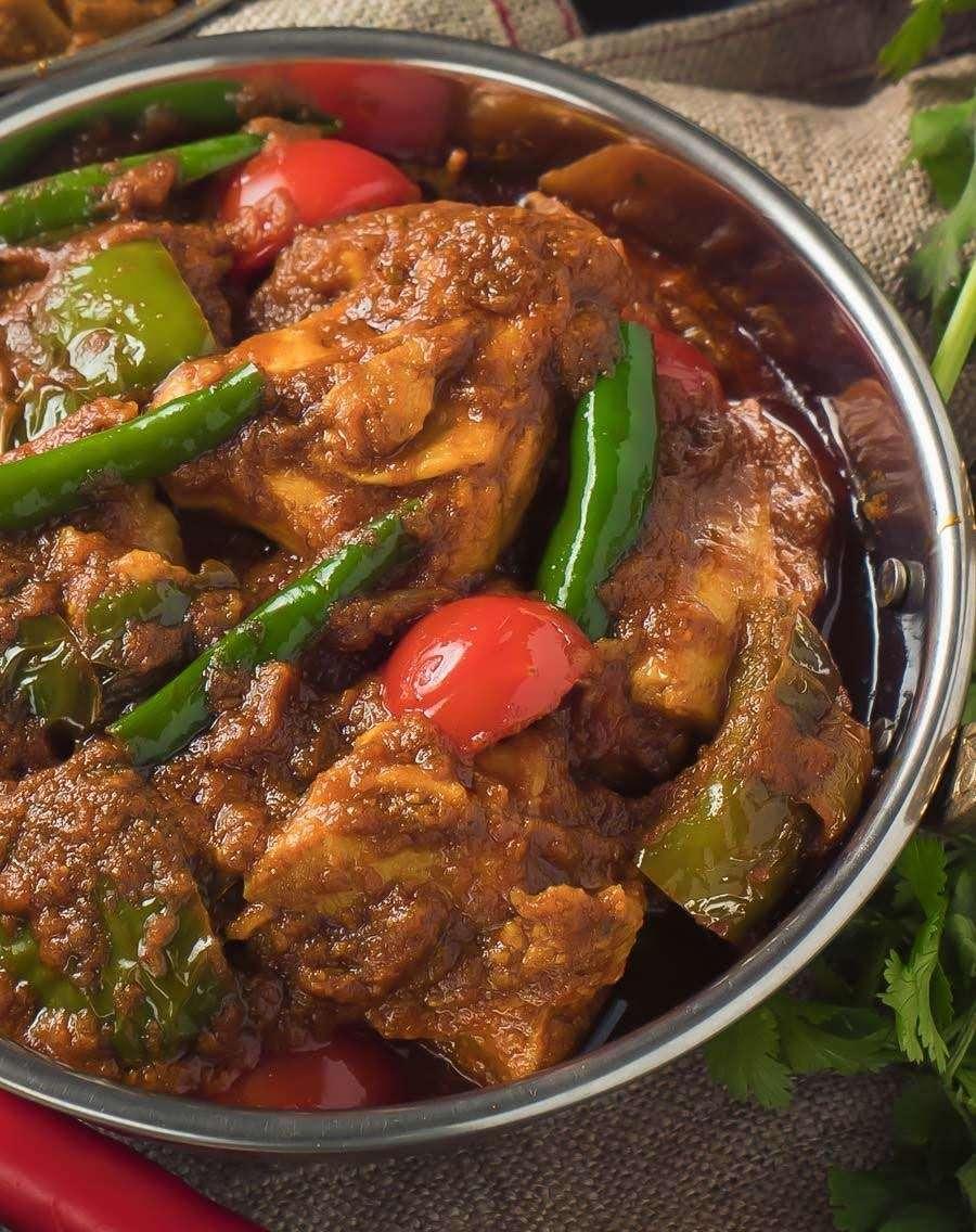 99. Chicken Jhal Farezi