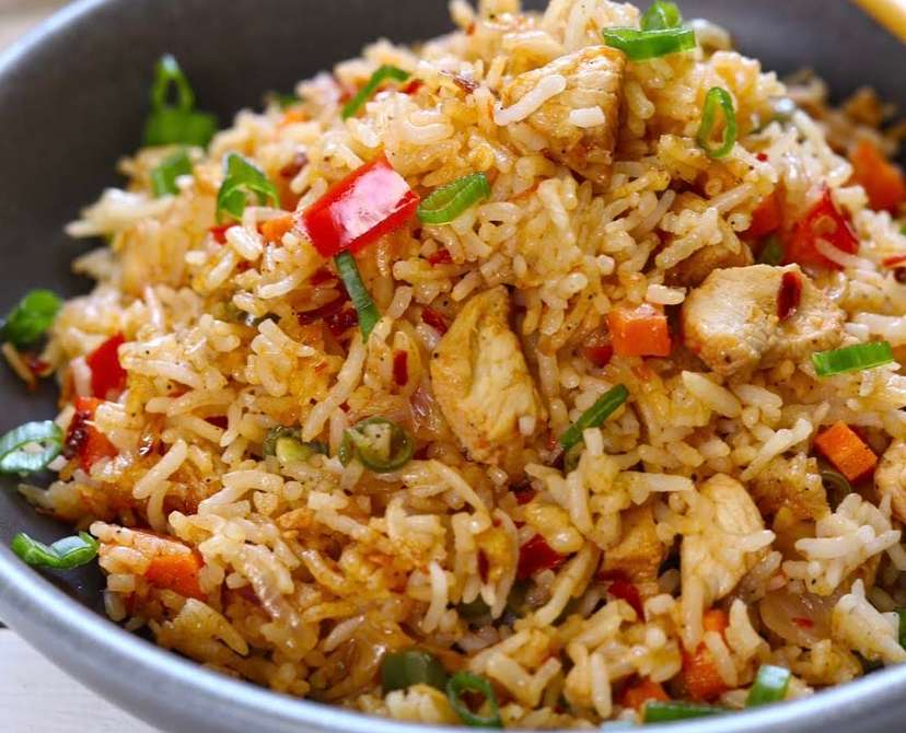 62. Chicken Fried Rice