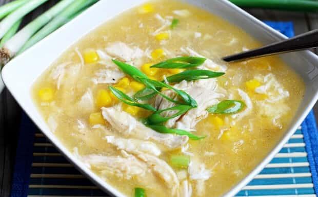19. Minerva Chicken Corn Soup