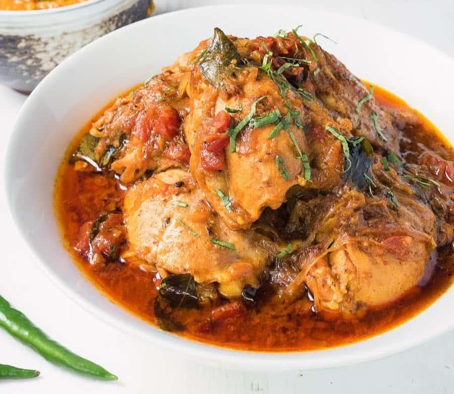 105. Chicken Chettinad