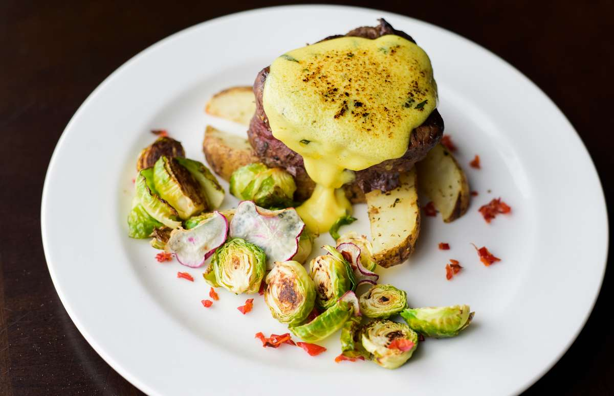 Nutty Radishes & Brussel Sprouts
