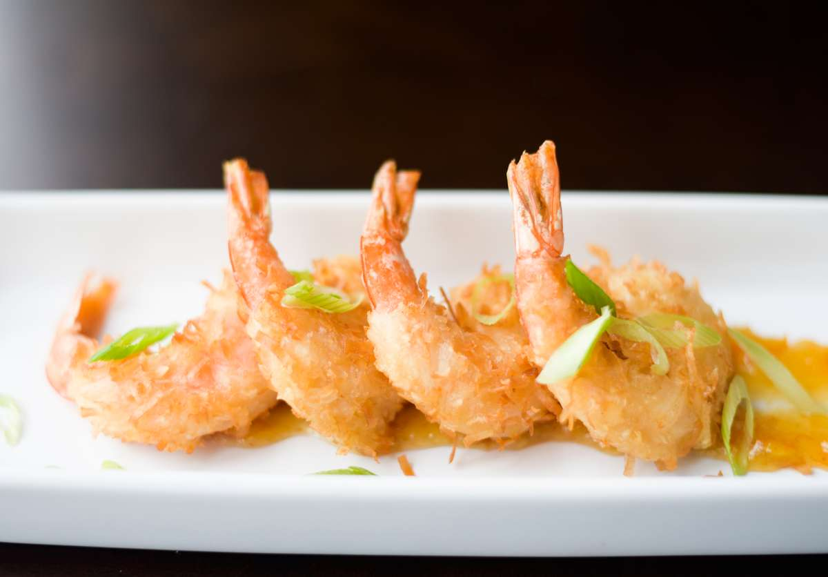 Crisp Coconut Shrimp
