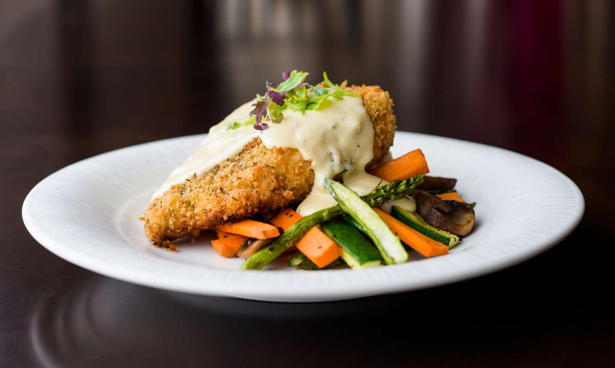 herb crusted chicken