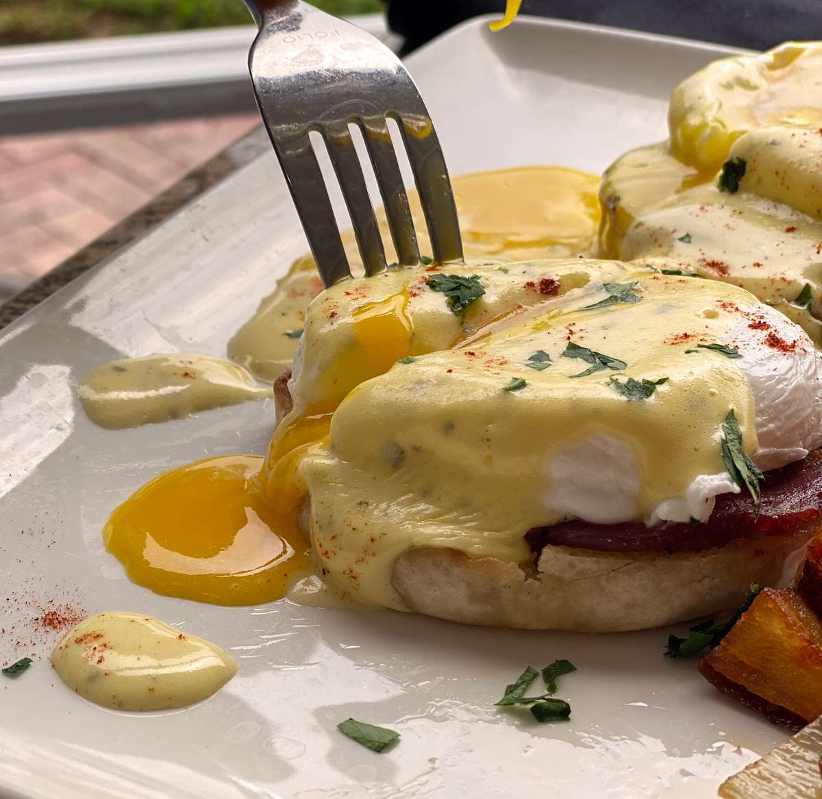 Eggs Benedict*
