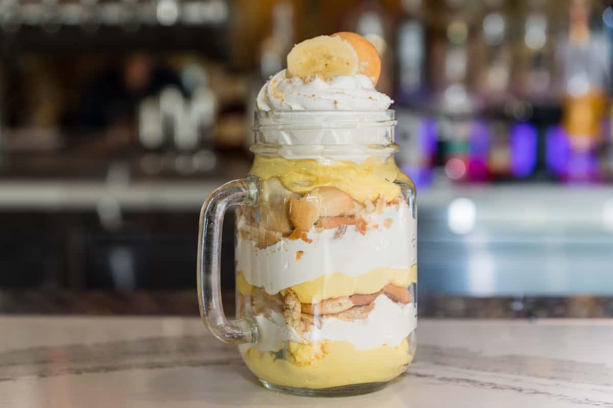 Banana Crème Parfait