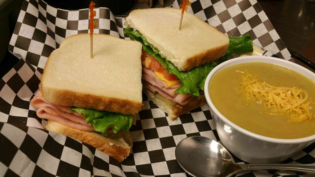 Tuesday - Ham with Split Pea Soup