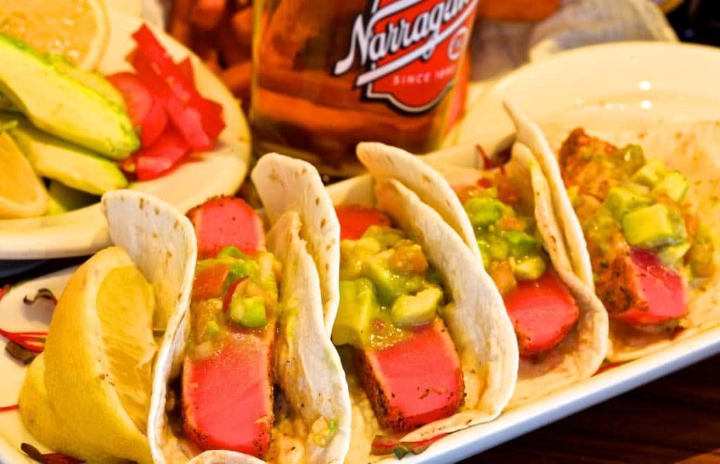 Blackened Ahi Tuna Tacos