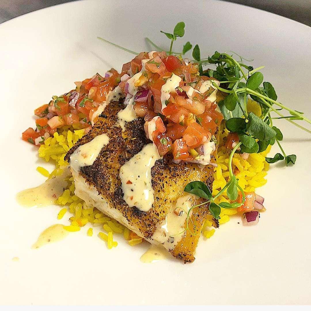 Cajun Grilled Atlantic Cod
