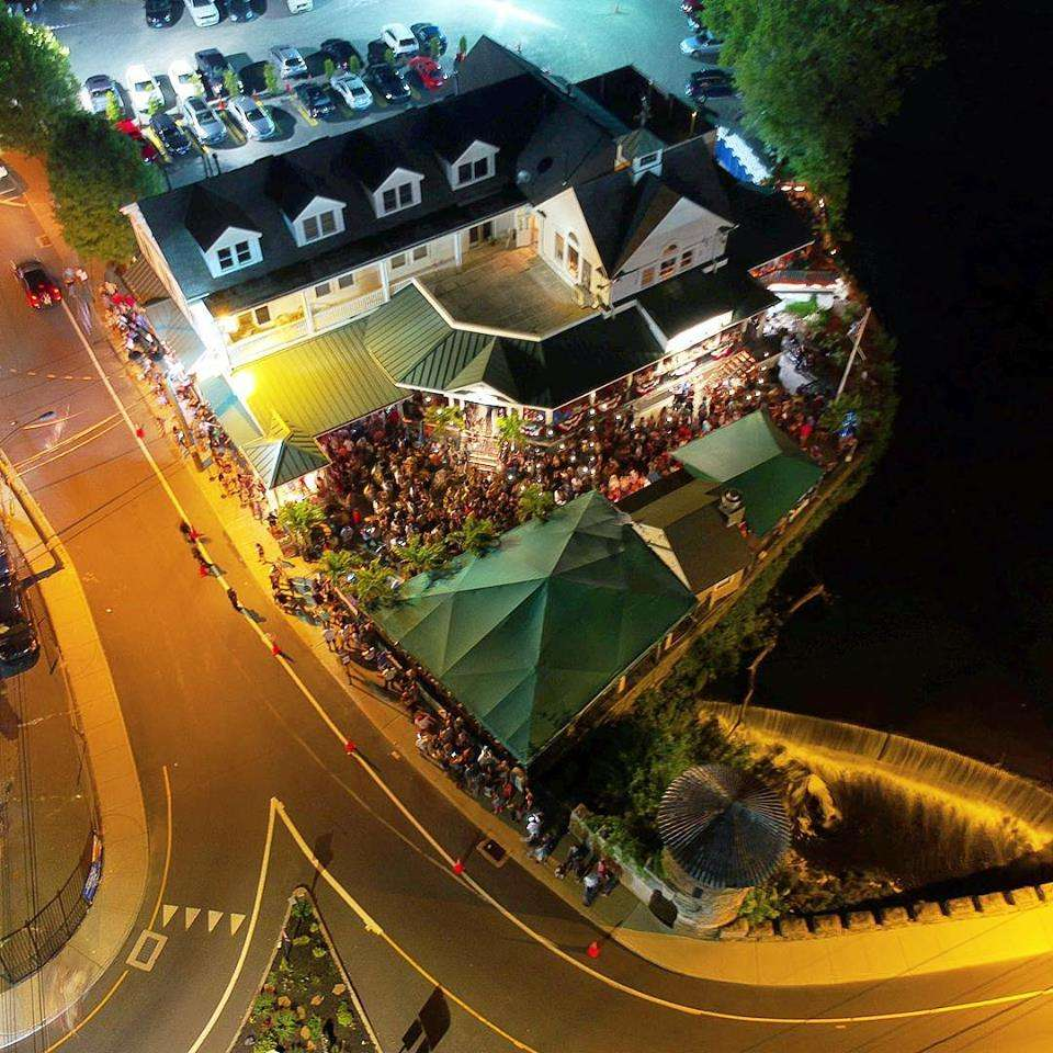 nightlife from above