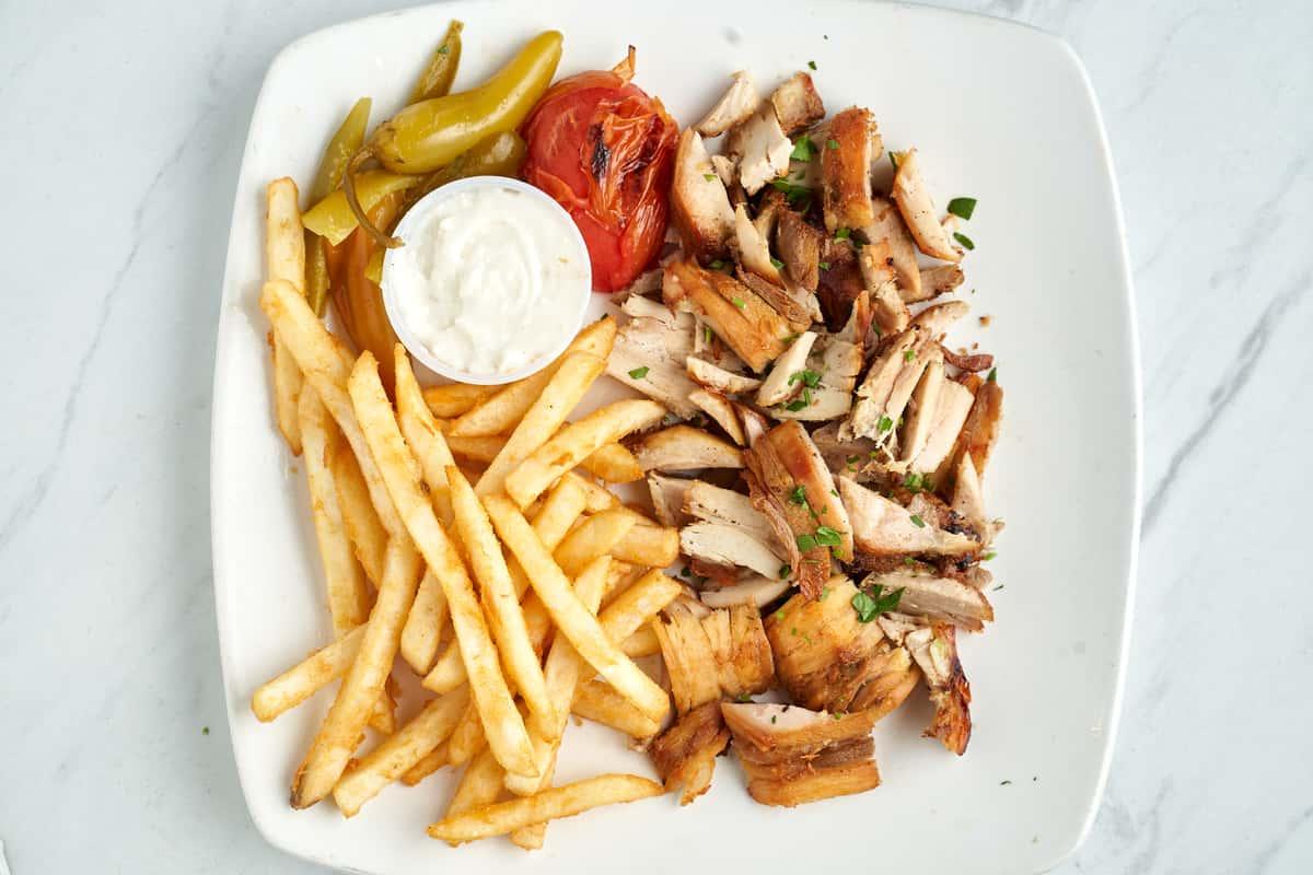 Grilled Chicken Shwarma