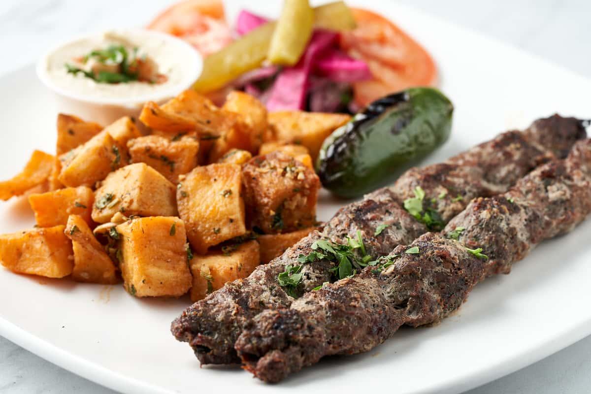 Spicy Kafta Kabob (Khosh-Khash)