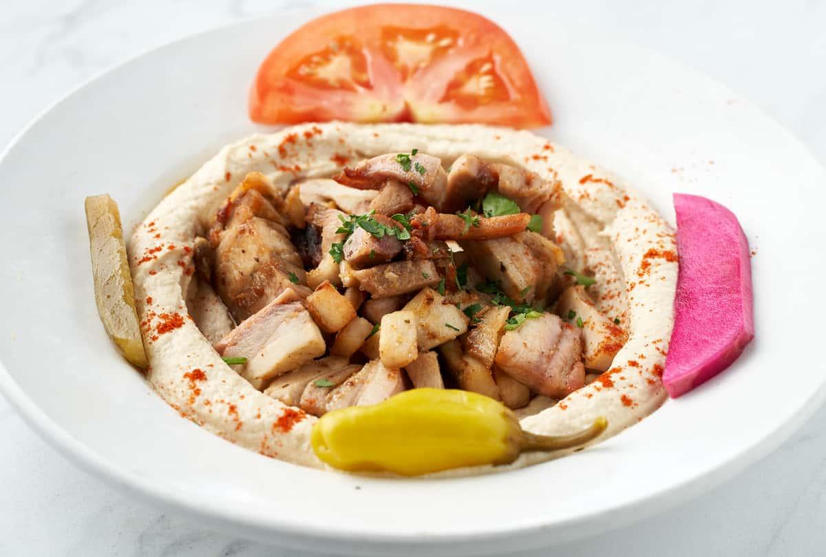Hummus Shawarma Chicken