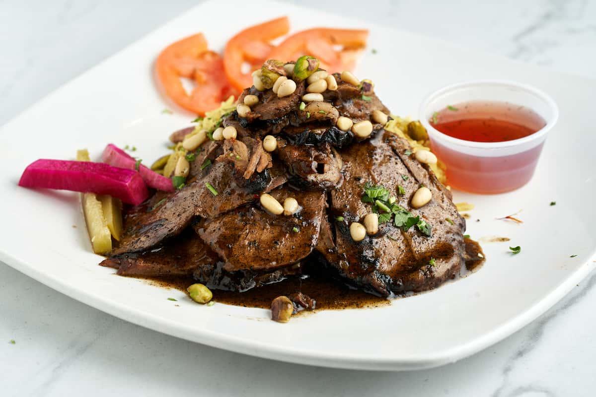 Ouzi (Roasted lamb & Rice)