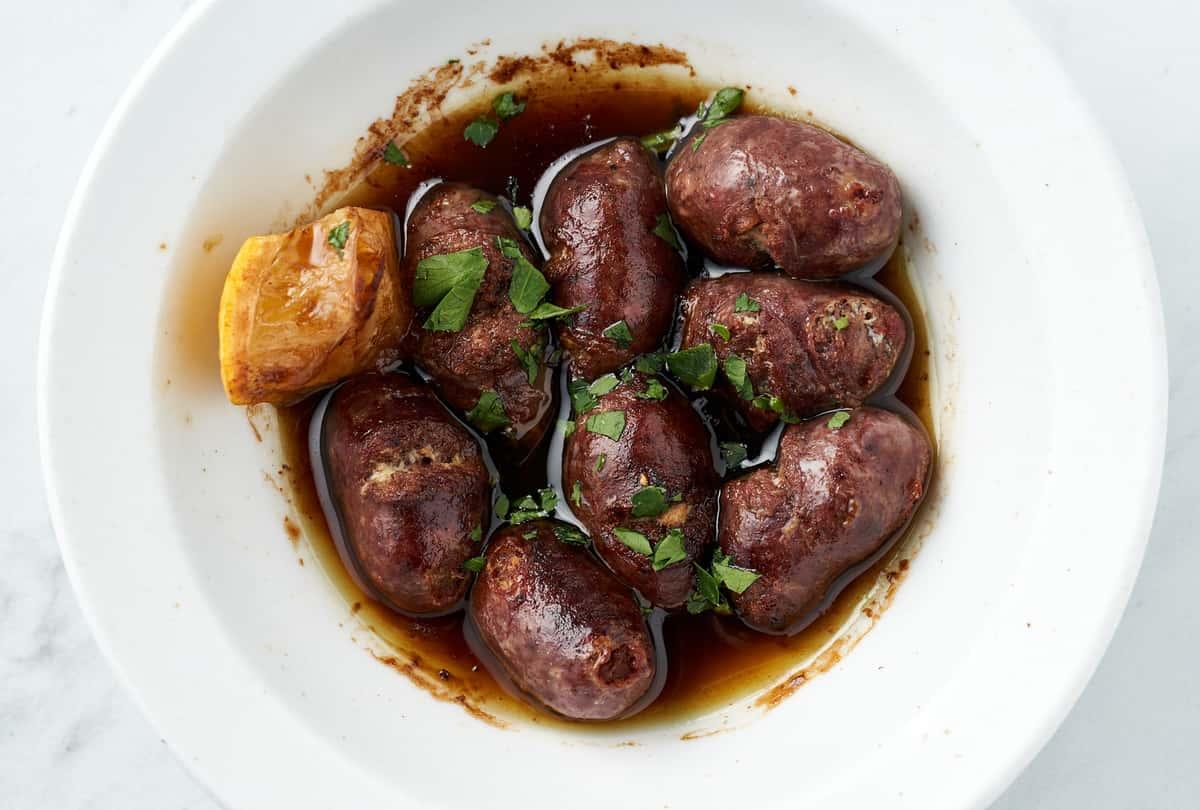 Lebanese Sausage (Makanek)