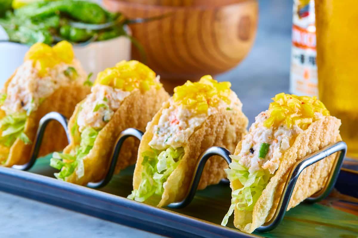 Mini Lobster Tacos