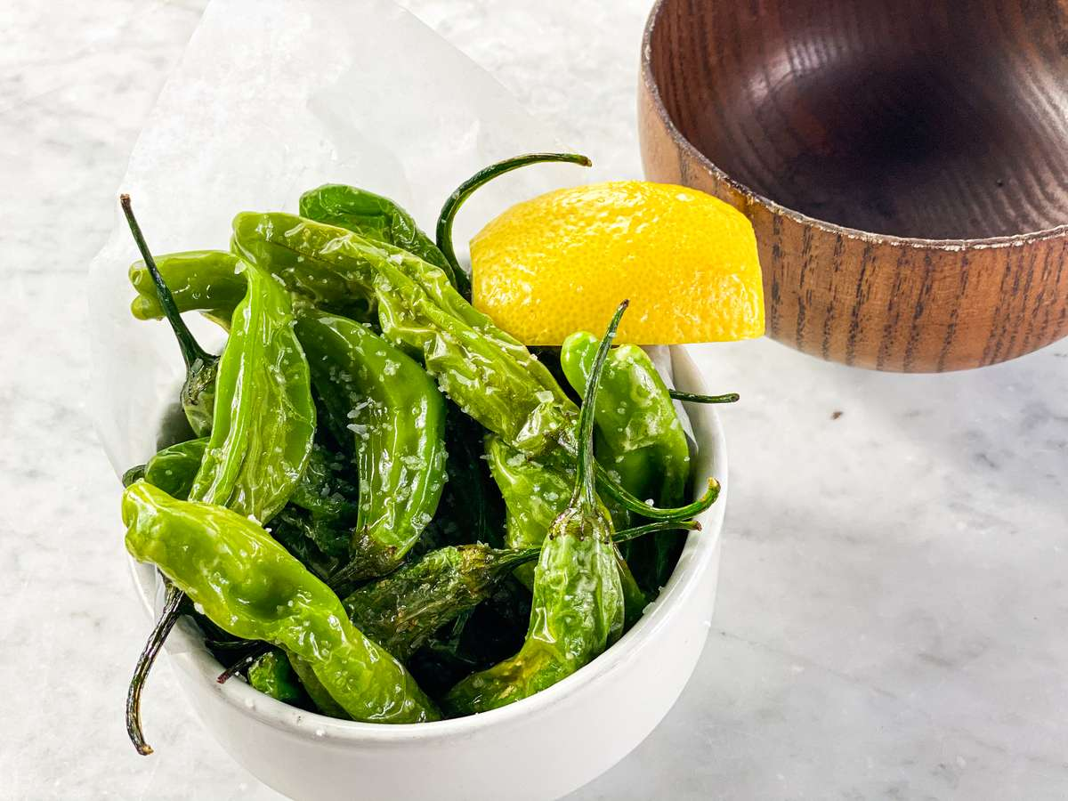 Flash-Fried Shishito Peppers