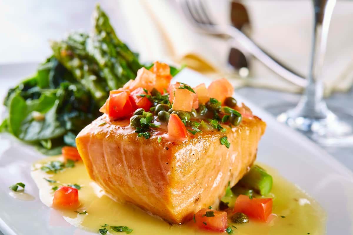 Pan Seared Scottish Salmon