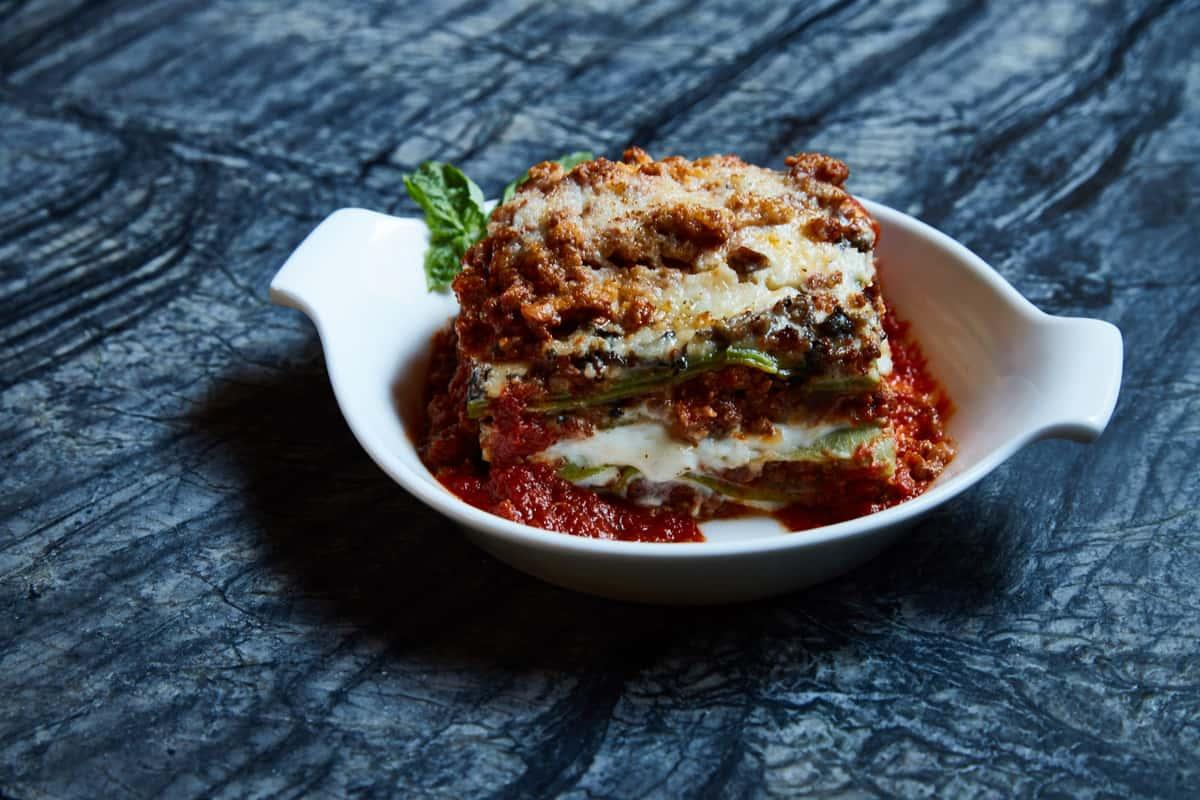 Homemade Lasagna Rustica