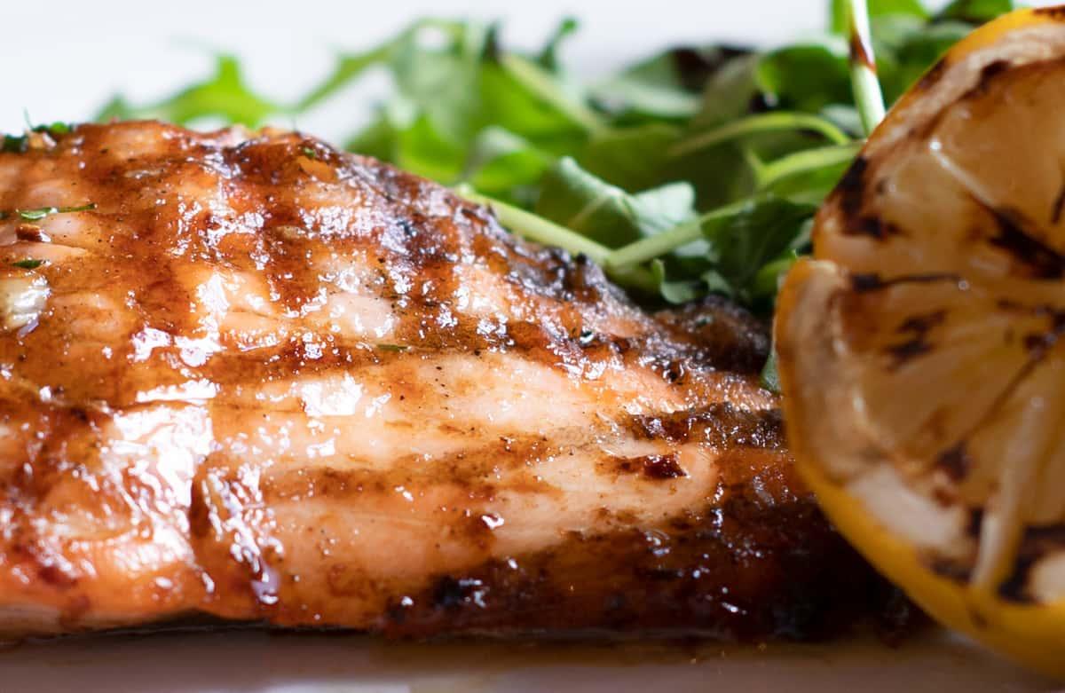 Broiled Atlantic Salmon
