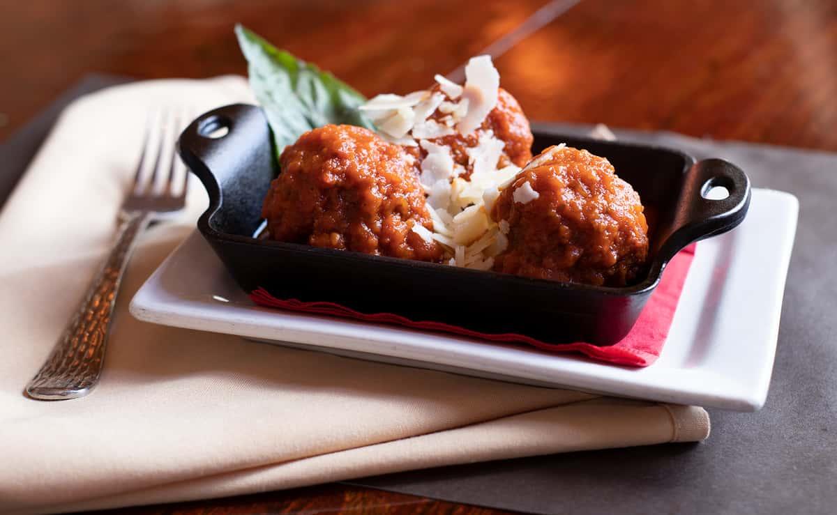 Meatballs in Marinara