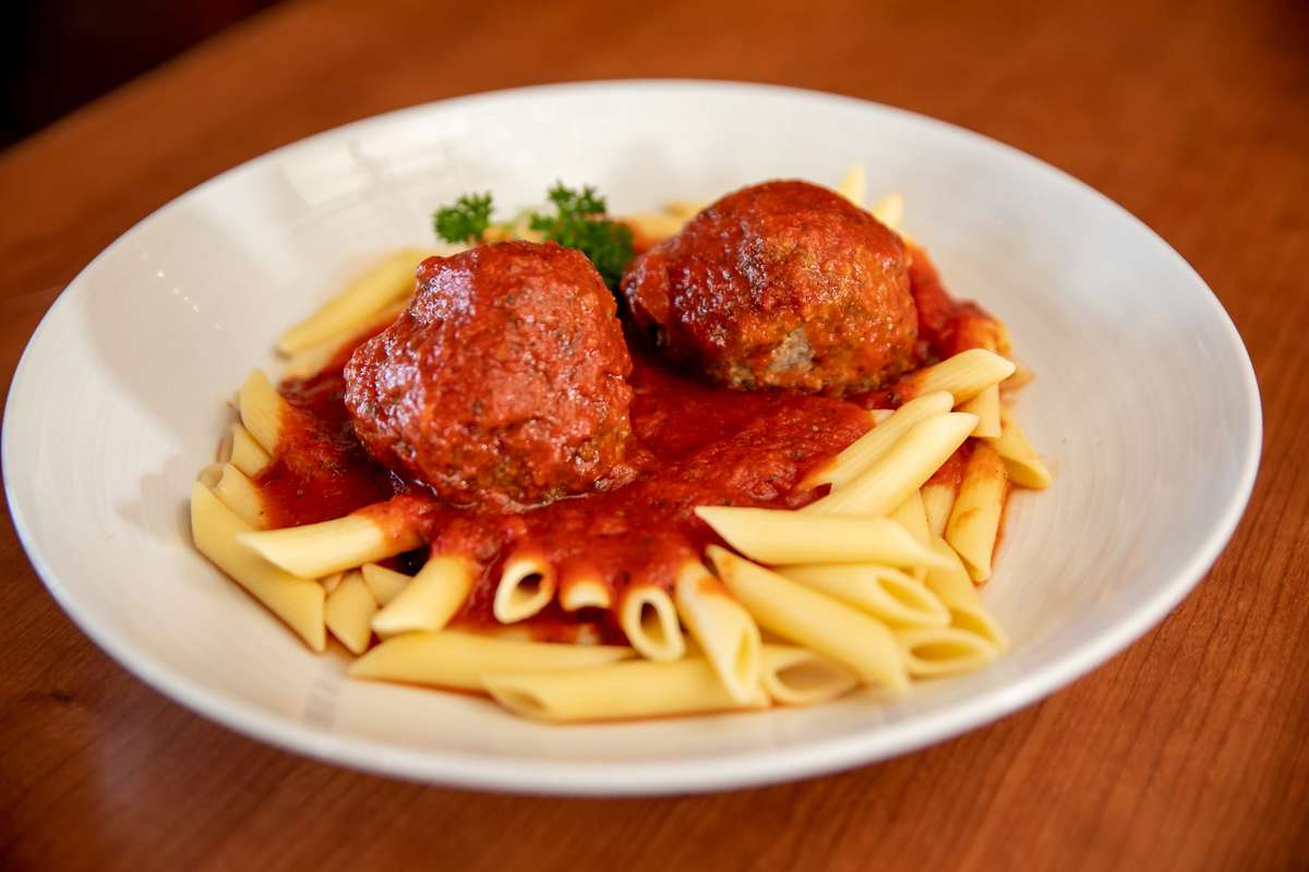 Pasta with Homemade Meatballs
