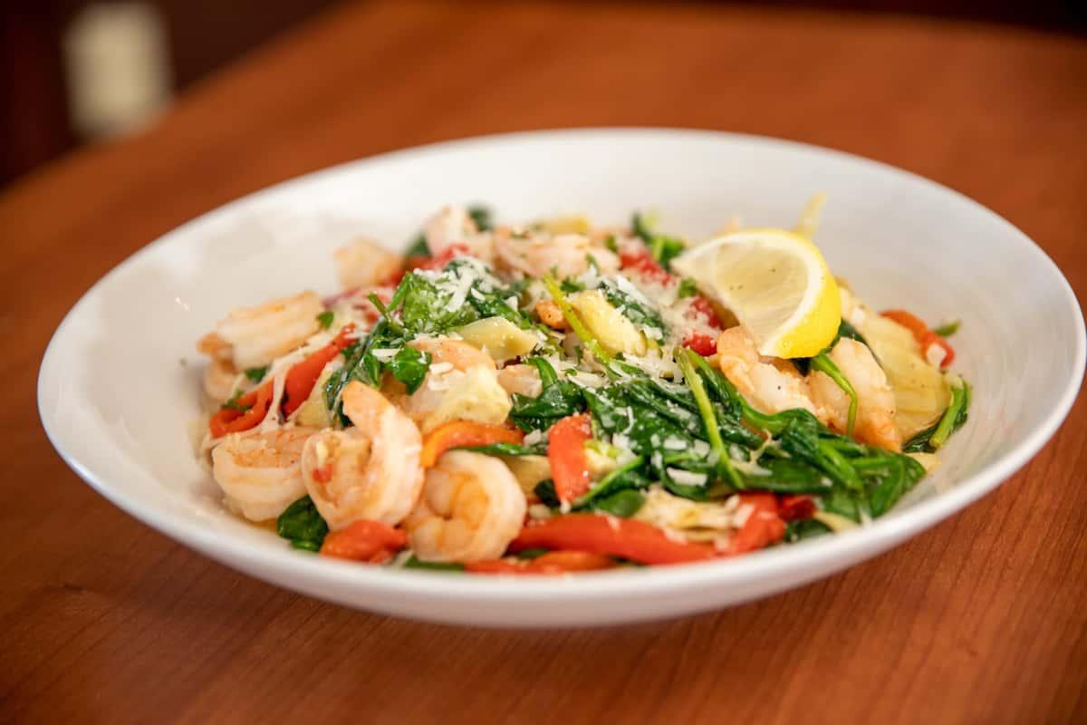 Shrimp & Artichoke