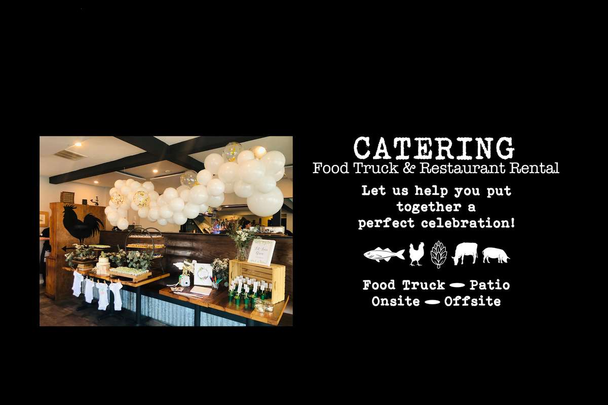 Picture of Baby shower with food and balloons Catering Food Truck and Restaurant Rental