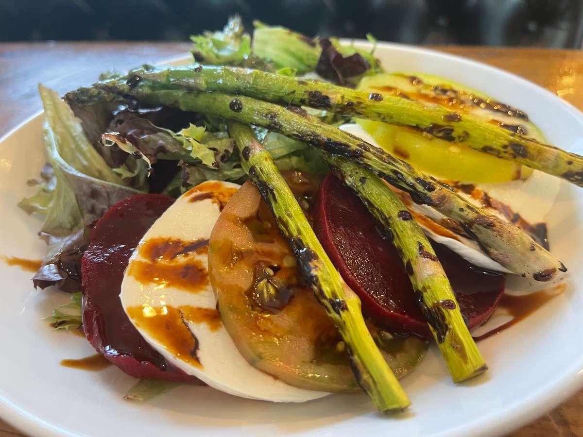 Beet & Heirloom Tomato Salad