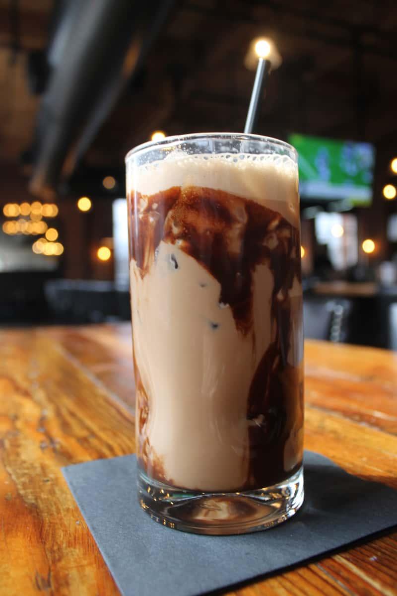 Mocha Iced Coffee Cocktail