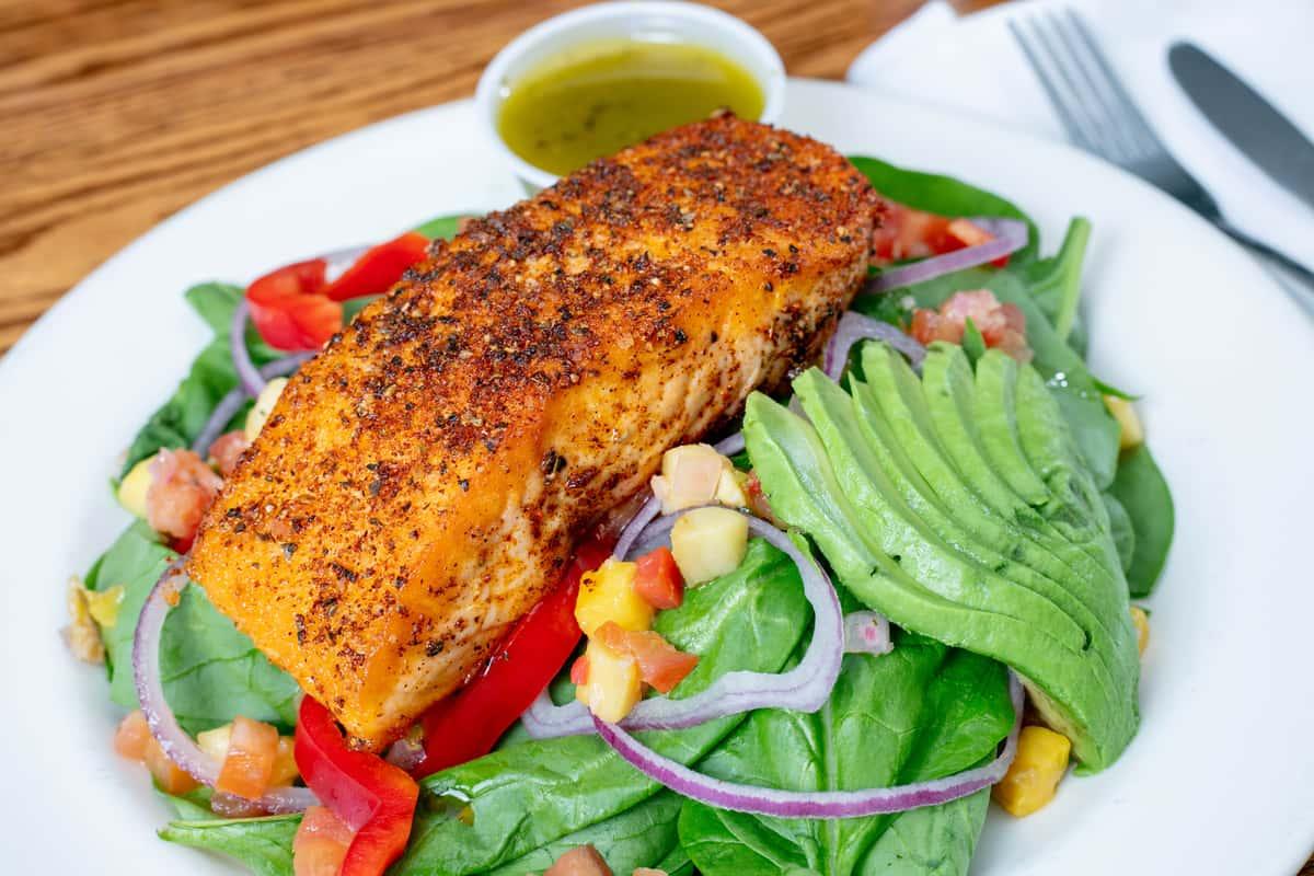 Chili Rubbed Salmon