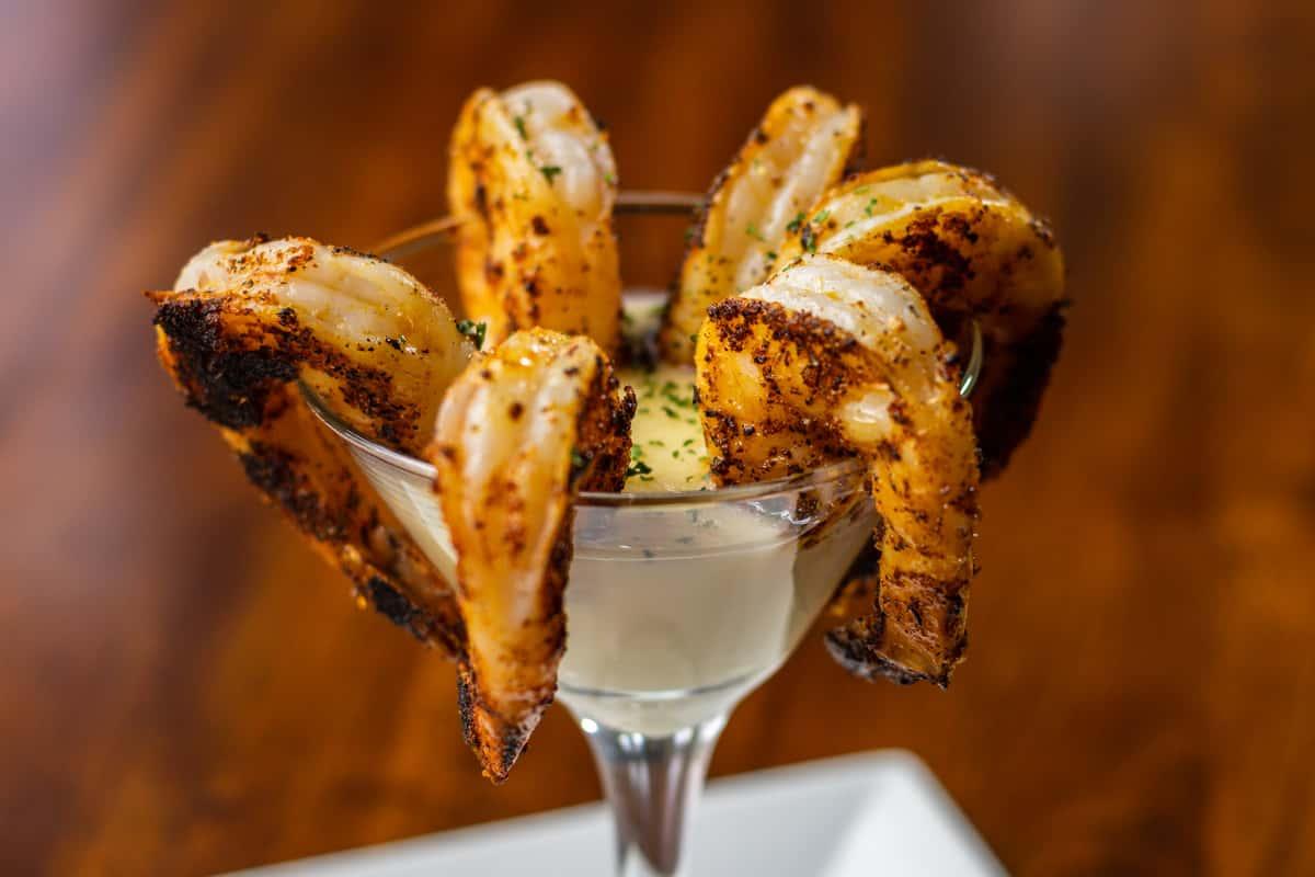 Charred Shrimp Cocktail