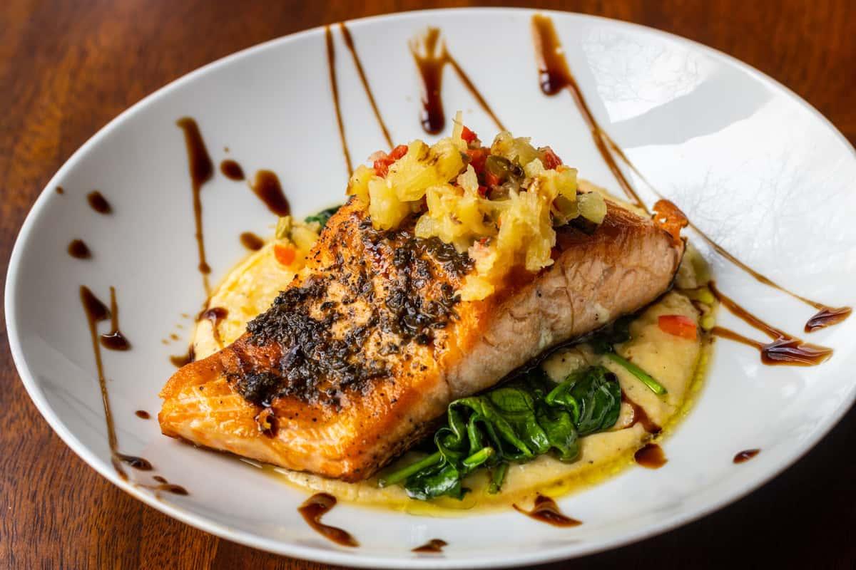 Jamaican Jerk Spiced Salmon