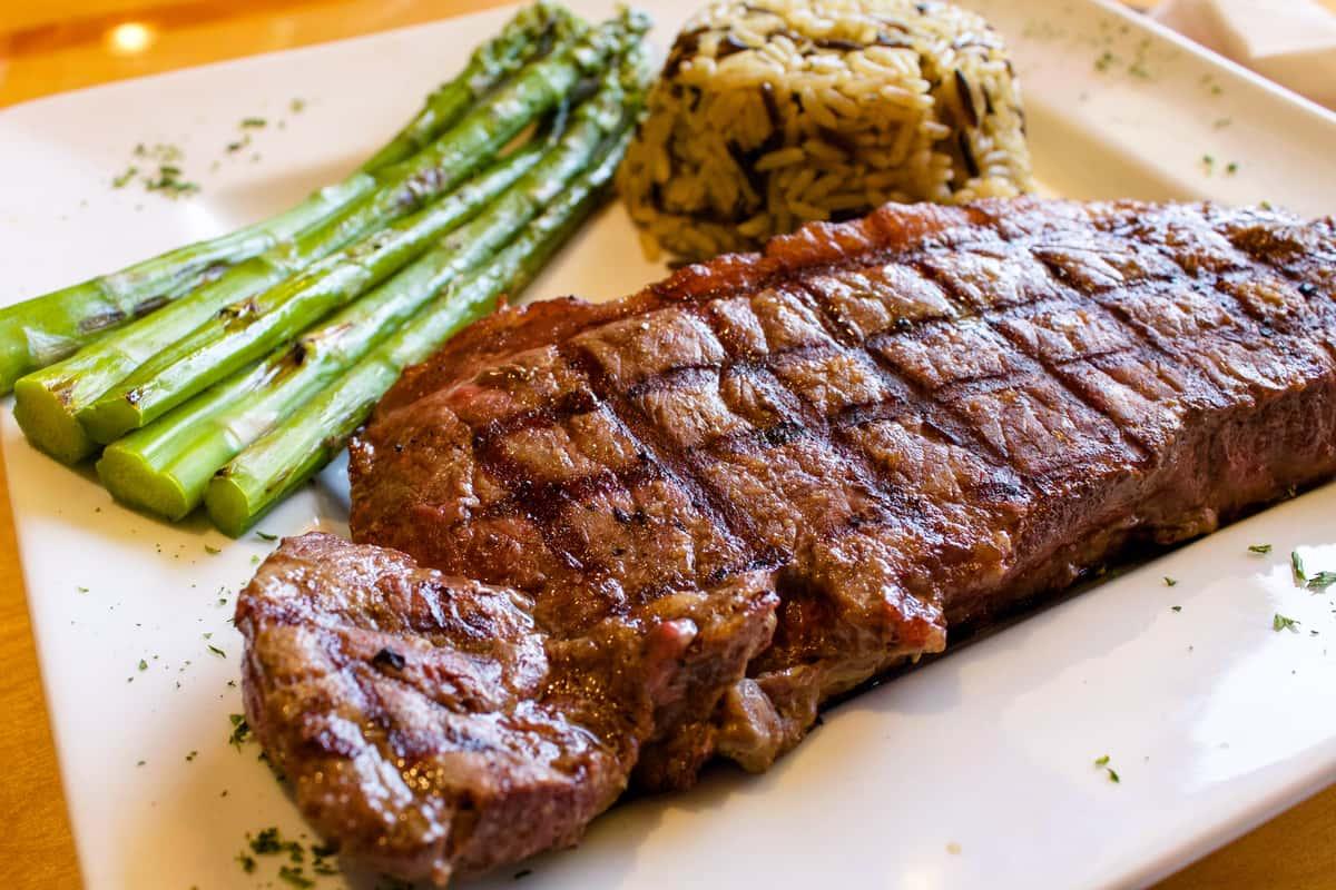 12 oz N. Y. Steak