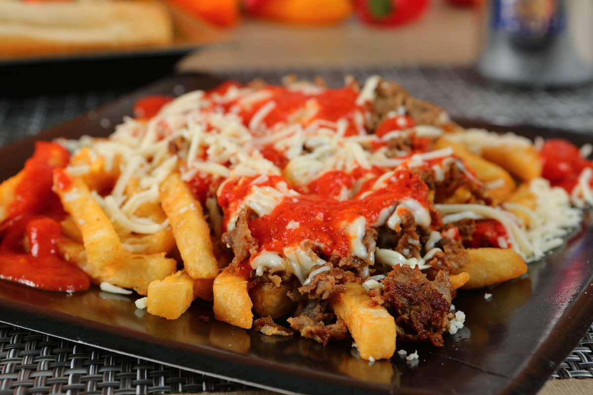 #11 Pizza Steak Fries