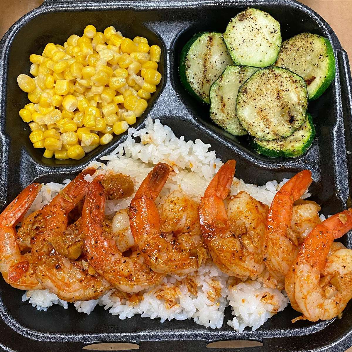 Shrimp Fire Grilled Plate