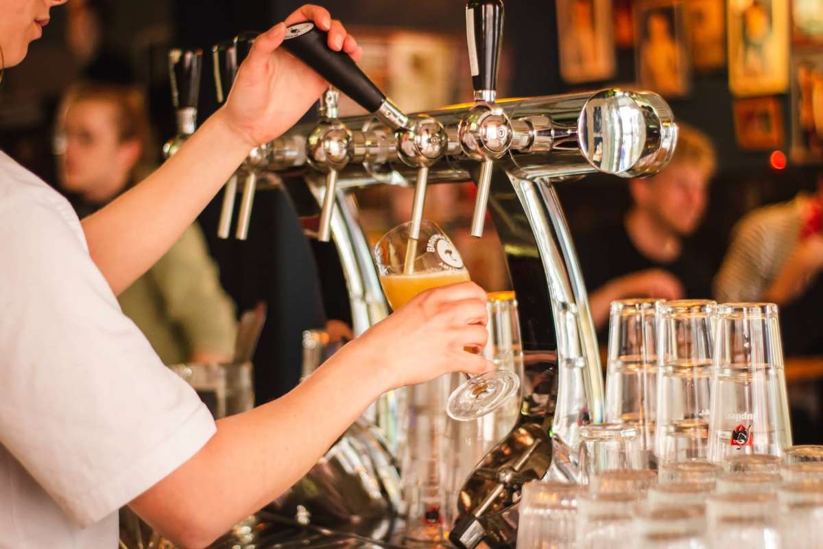 drink on tap
