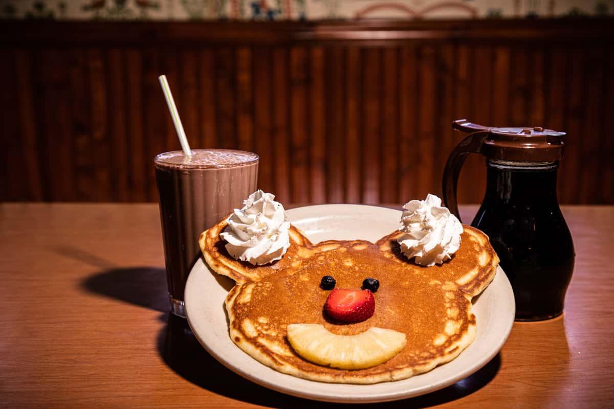 Smiley Face Pancake