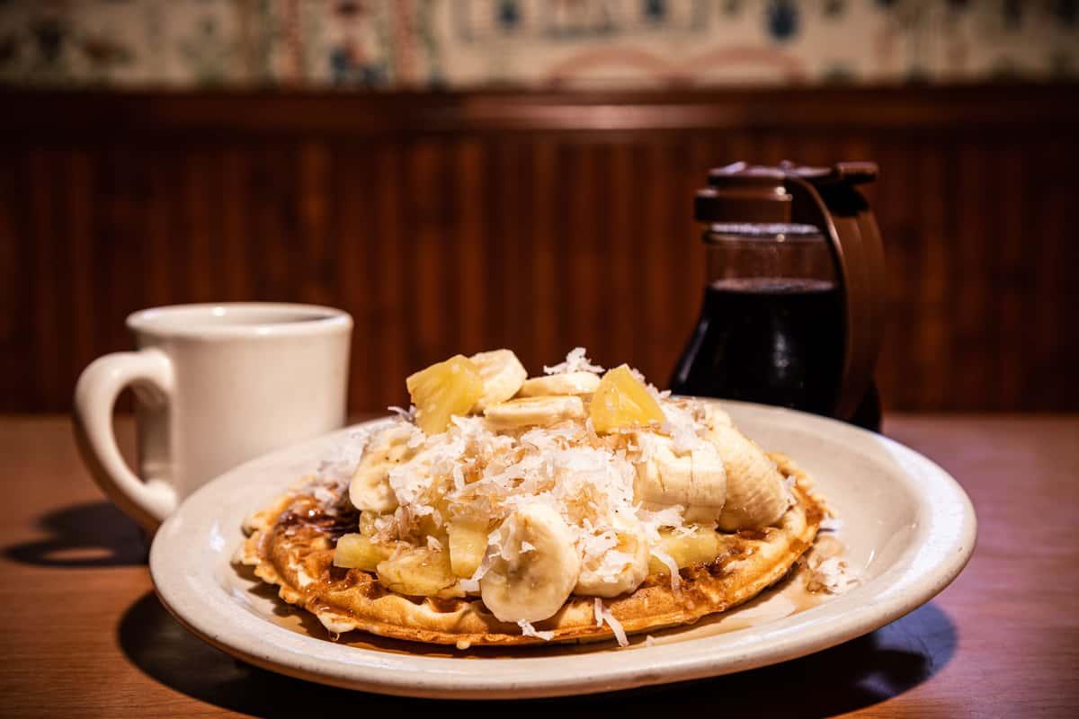 Hawaiian Waffle