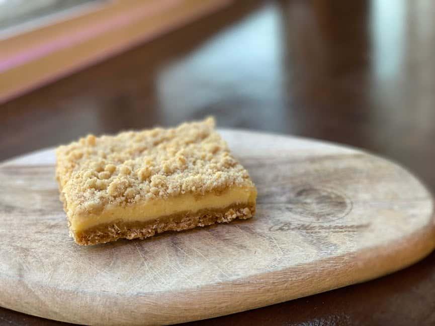 Lemon Crumb Bar