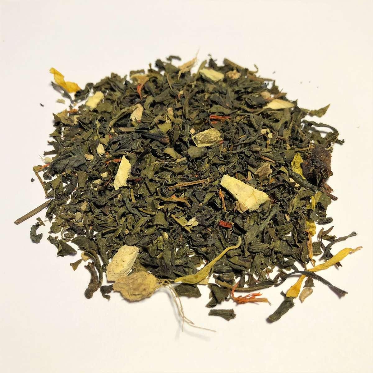 Organic Ginger Orange Peach - Loose Leaf Tea