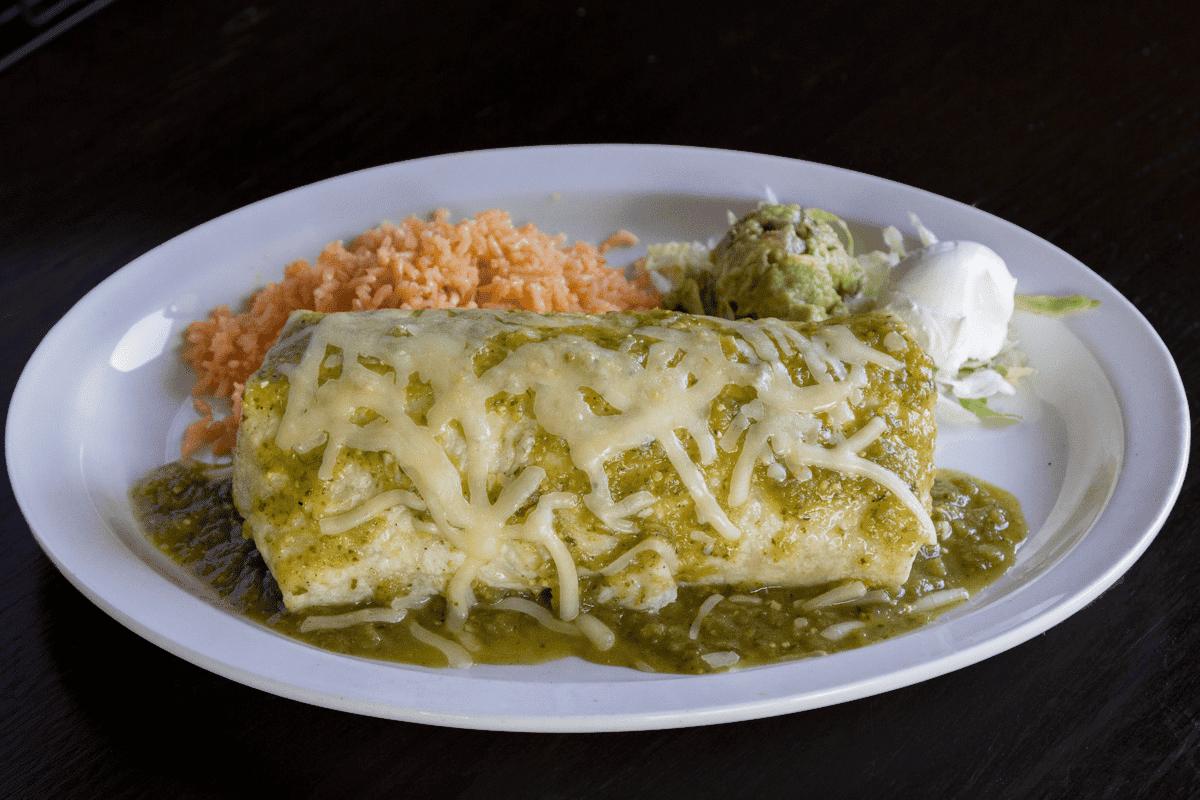 Burrito De Chile Verde