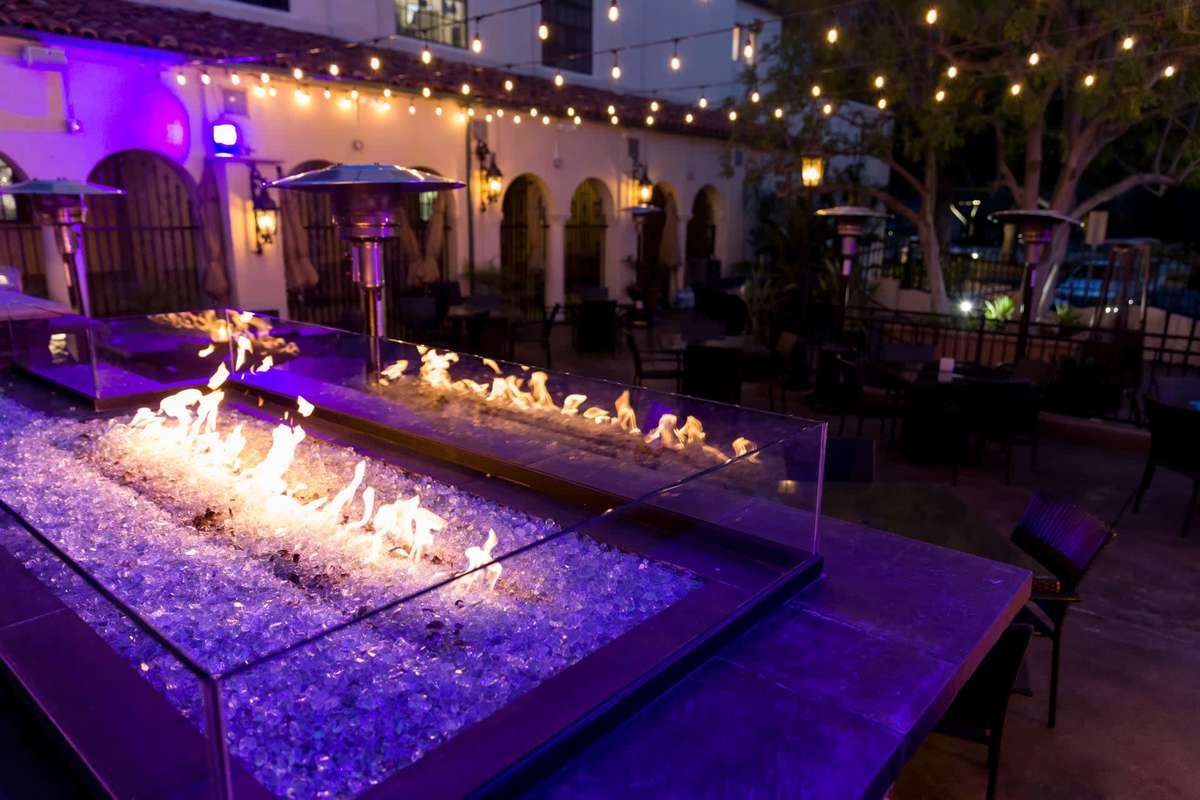 outside patio - claremont