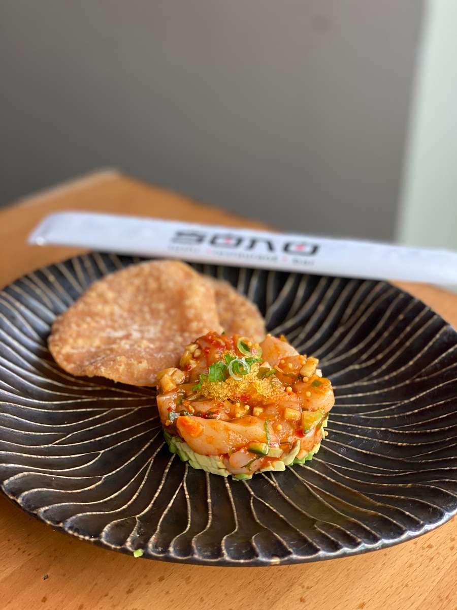 Spicy Scallop Tartar