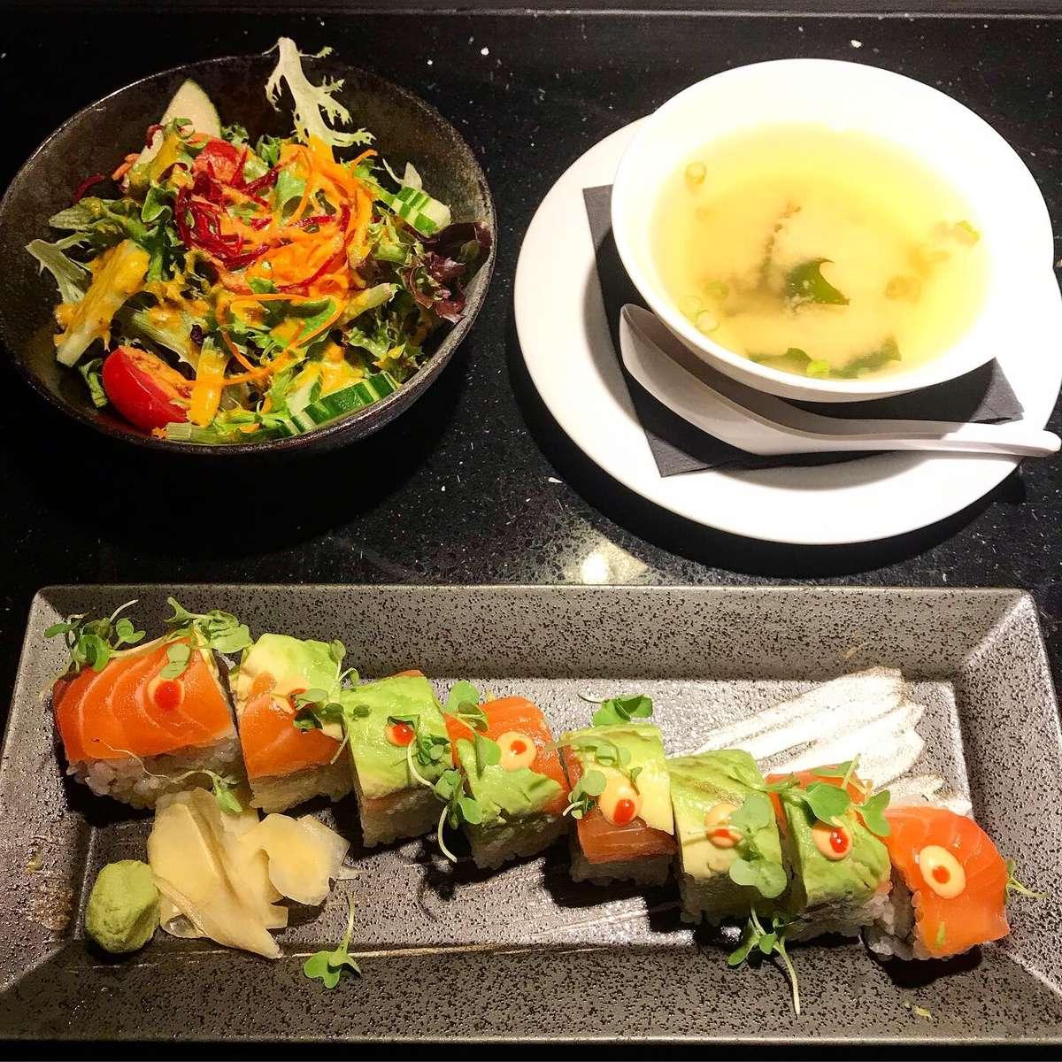 Soup, Salad, & Roll*