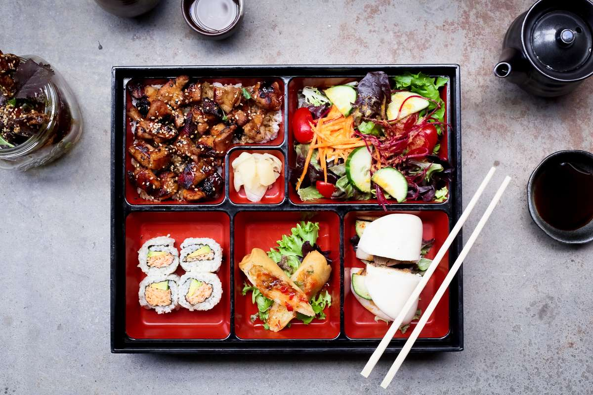 lunch bento box special